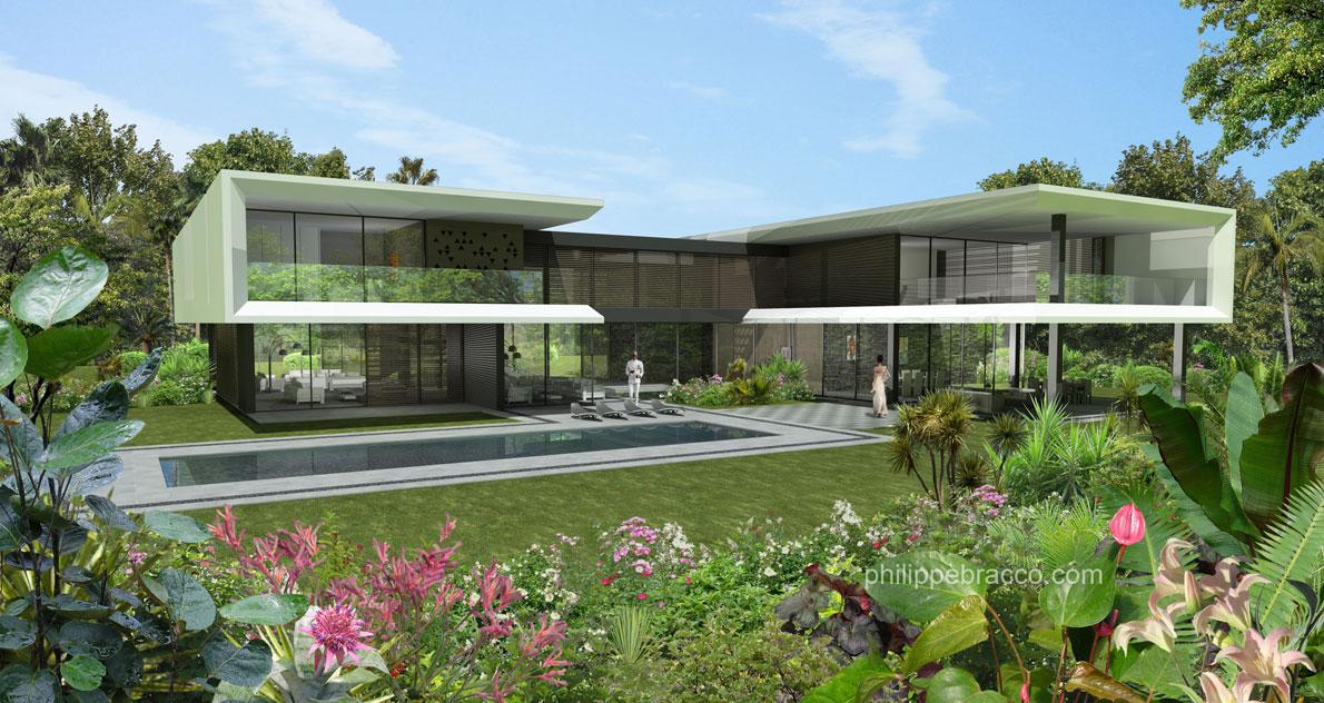 Cabinet d 39 architecte cannes afrique de l 39 ouest r sidence pour haute personnalit pr sidentielle - Cabinet d architecture abidjan ...