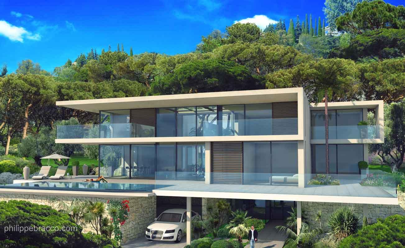 cabinet d 39 architecte cannes cassis villa ai. Black Bedroom Furniture Sets. Home Design Ideas