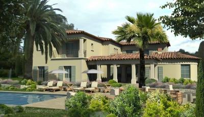 cabinet d 39 architecte cannes mougins villa ov. Black Bedroom Furniture Sets. Home Design Ideas