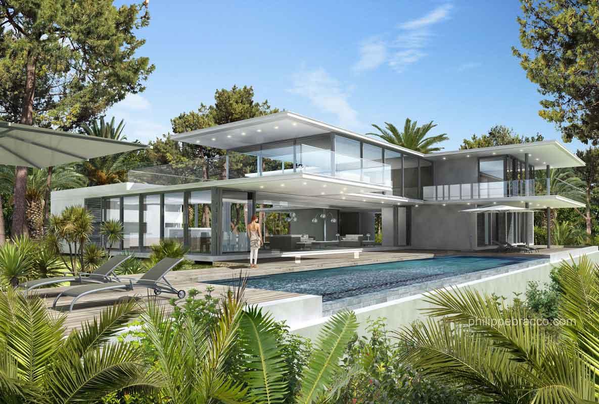 cabinet d 39 architecte cannes vence villa ll. Black Bedroom Furniture Sets. Home Design Ideas